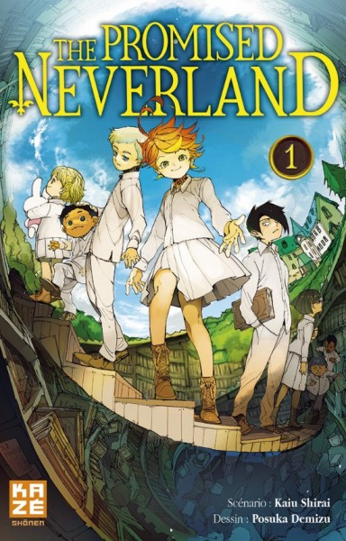 The promised neverland kaiu shirai Posuka Demizu